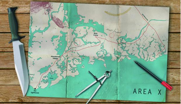 map of area-x
